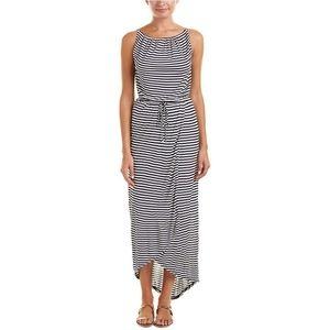 CAbi Boat Stripe Maxi Dress
